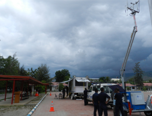 AFP and Timor Police Emergency Communications Trailer
